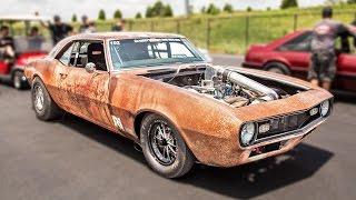 "1400hp ""Rust Bucket"" - Single Turbo Camaro by 1320Video"