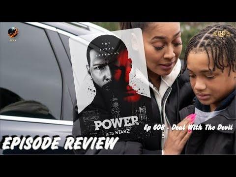 Power Season 6 Episode 8 Review | Deal With The Devil | STARZ | Ep 608 | Recap & Discussion