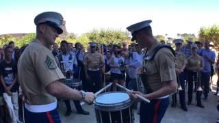 Video #SFBandChallenge15: Benicia Drumline VS 1st Marine Division MP3, 3GP, MP4, WEBM, AVI, FLV Agustus 2019