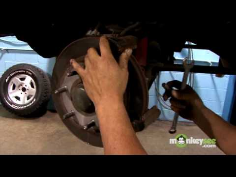 change brakes - To view the next video in this series click: http://www.monkeysee.com/play/11916.