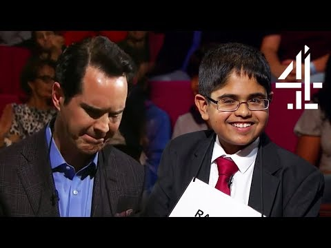 """""""Genuinely Annoyed"""" Jimmy Carr Can't Handle Losing to a Kid!   Child Genius vs Celebrities"""