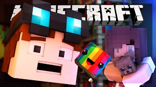 Minecraft | LIGHTS OUT HORROR MAP!! | Funny Moments Animation