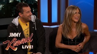 Video Jennifer Aniston & Adam Sandler on Friendship, Adam Levine & Emergency Landing MP3, 3GP, MP4, WEBM, AVI, FLV Juni 2019