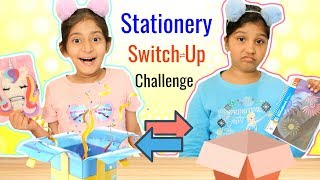 Mystery BOX - Stationery SWITCH-UP Challenge | #Fun #Kids #MyMissAnand