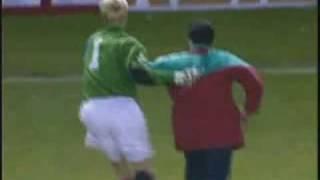 Peter Schmeichel und der Galatasaray-Fan