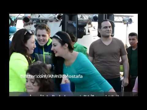 Safinaz Dancer رقص مثير لـ صافيناز فى عيد ميلاد ابن بوسي (видео)