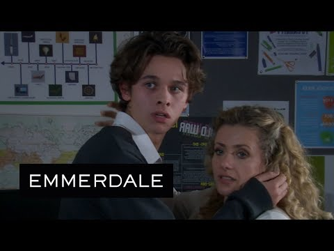 Emmerdale - Maya and Jacob Try to Have Sex in an Empty Classroom