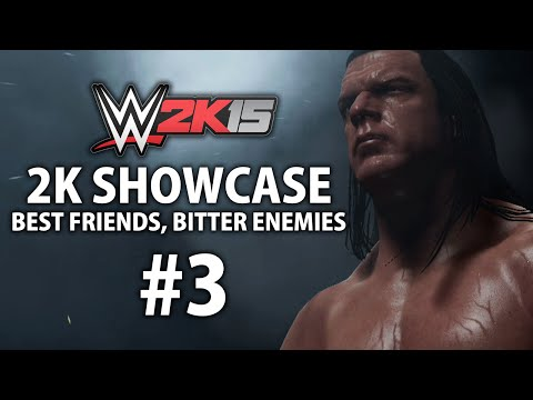 WWE 2K15 (Xbox One) 2K Showcase - Best Friends, Bitter Enemies Gameplay Walkthrough Part 3