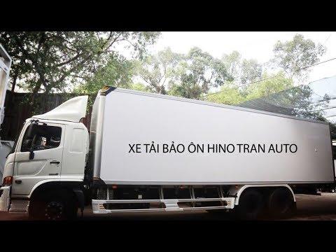 Xe tải bảo ôn Tran Auto - xuất sắc mọi phương diện