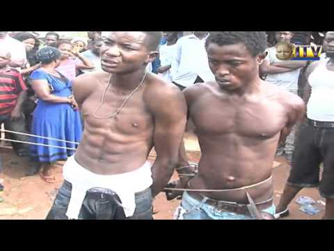 Two Robbers Nabbed At Lucky Way, Benin City