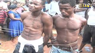 A three-man robbery gang terrorizing Lucky way and environs in Benin City have been apprehended by members of a vigilante group in the area.