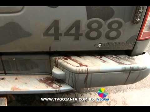 PM recupera dinheiro roubado e bandidos são mortos em confronto em Faina (GO)