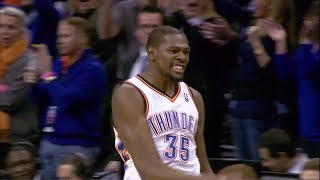 2014.01.27 - Kevin Durant Full Highlights vs Hawks - 41 Pts, 5 Assists, Game-Winner!