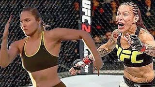 Cris 'Cyborg' Justino Calls Out Ronda Rousey: You Running All The Way to New York? by Obsev Sports