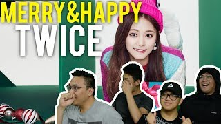 "Video Being ""MERRY & HAPPY"" with TWICE (MV Reaction) MP3, 3GP, MP4, WEBM, AVI, FLV Juli 2018"