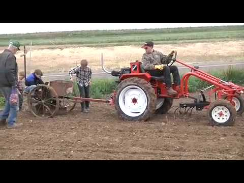 Bcs Model 853 Walk Behind Tractor With Caeb Mini Haybaler Images Frompo