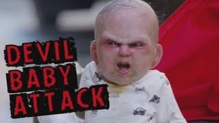 Video Devil Baby Attack: Evil baby prank terrifies innocent people in New York MP3, 3GP, MP4, WEBM, AVI, FLV Agustus 2017