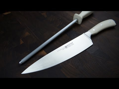 How To Hone Wusthof Chef Knives