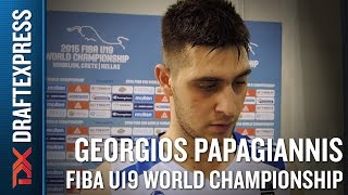 Georgios Papagiannis 2015 FIBA U19 World Championship Interview