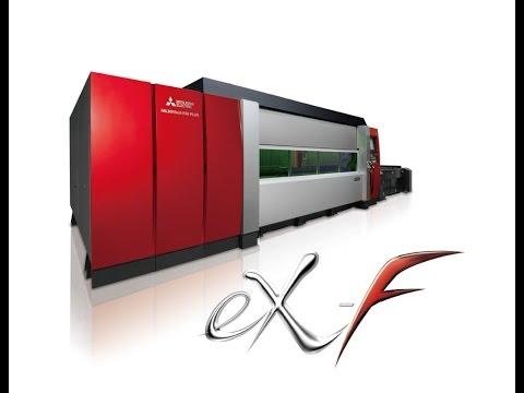 MITSUBISHI 2 Dimensional Fiber Laser Processing Systems eX F Series