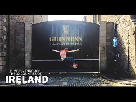 Jumping through the 32 Counties of Ireland