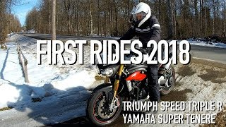 3. First Motorcycle Ride 2018 Triumph Speed Triple R
