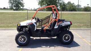 7. 2013 Polaris Ranger RZR S 800 LE in Orange and White at Tommy's MotorSports