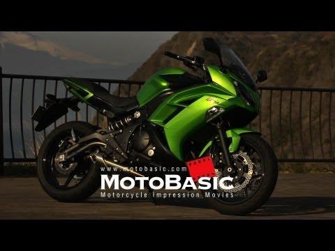 Kawasaki Ninja 650 (2012) SHORT TEST RIDE カワサキ ニンジャ650 バイク試乗ショートレビュー