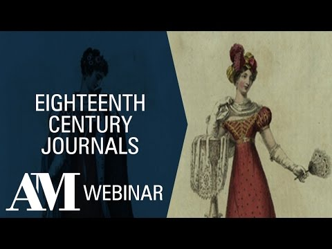 Product Overview Webinar: Eighteenth Century Journals