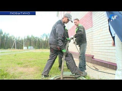 В Любытино начались дополнительные работы в новой местной ЦРБ
