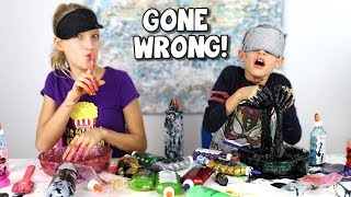 Video BLINDFOLDED SLIME PRANK CHALLENGE GONE WRONG!!! MP3, 3GP, MP4, WEBM, AVI, FLV Maret 2019