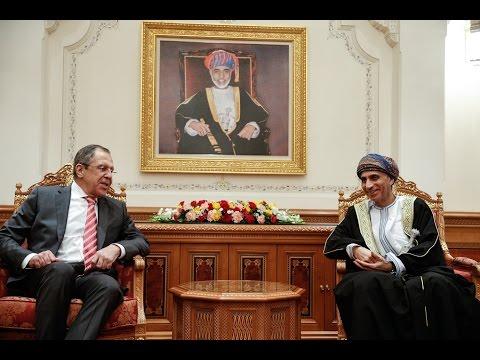 Sergey Lavrov and Fahd bin Mahmoud al Said | С.Лавров и Фахд Аль Саид