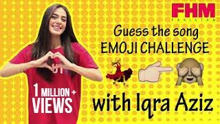 Video Guess the song - Emoji Challenge with Iqra Aziz at FHM Pakistan MP3, 3GP, MP4, WEBM, AVI, FLV November 2018