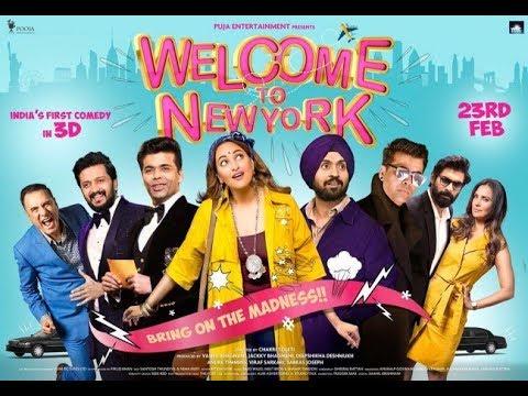 Welcome To New York Official Trailer||   Sonakshi Sinha||   Diljit Dosanjh ||  Karan Johar  ||HD