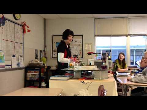 A Teacher Cries Nerd Tears When Her Students Buy Her A New