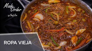 Ropa Vieja | Made To Order | Chef Zee Cooks