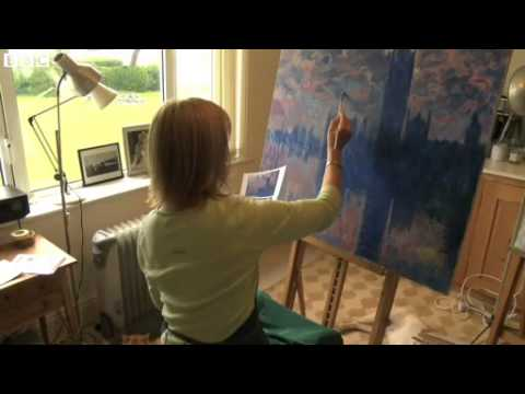 BBC News Copying the art worlds great paintings