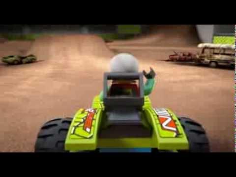 Vidéo LEGO Racers 9095 : Nitro Predator
