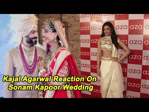 Kajal Aggarwal Reaction On Sonam Kapoor Wedding