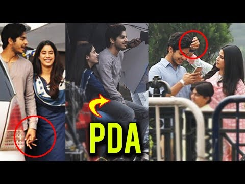 Ishaan Khatter On Jhanvi Kapoor's Lap, TOO MUCH PD