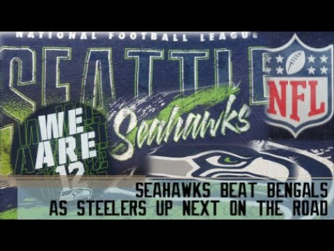 we are 12 go hawks - seahawks beat bengals as steelers up next on the road