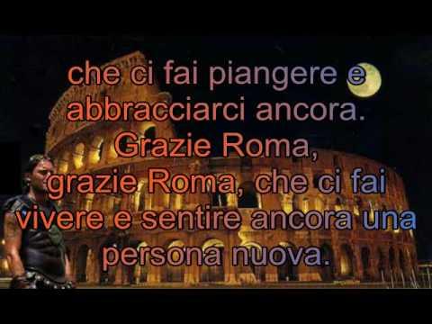, title : '-Antonello Venditti- Grazie Roma'