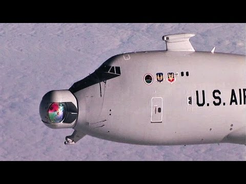 Video of various tests for an airborne...