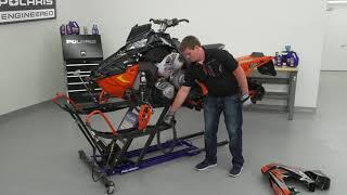 7. Drive Belt Replacement Procedure and Tips - Polaris Snowmobiles