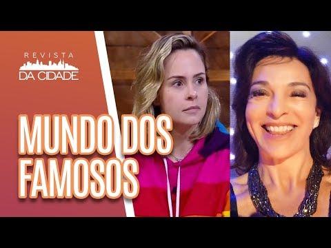 Ana Paula Renault e Vida Vlatt DISCUTEM no 'Programa do Porchat' - Revista da Cidade (16/10/18)