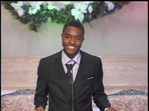 Jayden Ford, Graduate Speaker