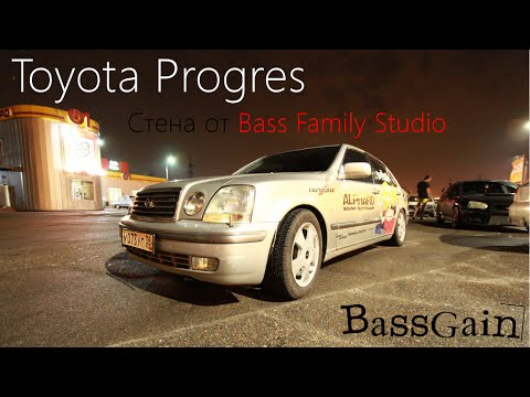 Обзор Toyota Progres, стена от Bass Family Studio