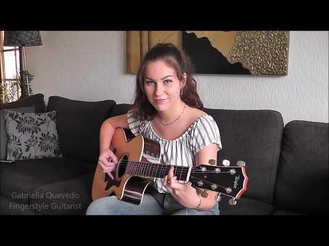 """Guns N' Roses  """"Sweet Child O' Mine"""" Cover by Gabriella Quevedo"""