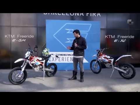 Vídeos de la KTM Freeride E-SM de 2015