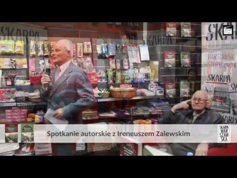 Spotkanie autorskie z Ireneuszem Zalewskim